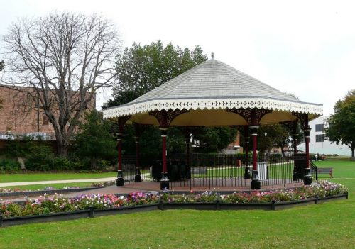 Skegness Tower Gardens Bandstand Photograph