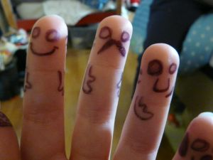 Finger Friends Picture