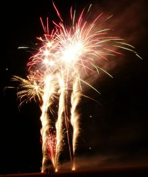 Skegness Firework Display Photography