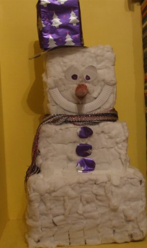 Frosty the Indoor Snowman Picture