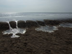 Over Flowing Sea Photo