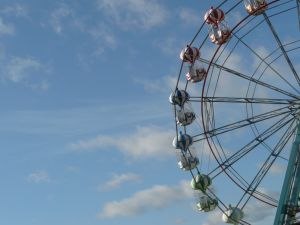 Skegness Big Wheel Photograph