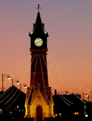 Skegness Clock Tower Image