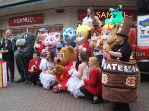 Skegness Mascots Picture
