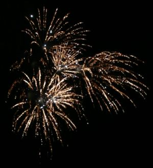 White Firework Photograph